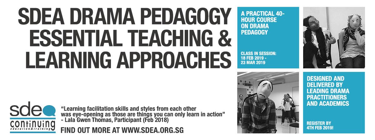 SDEA Drama Pedagogy: Essential Teaching and Learning