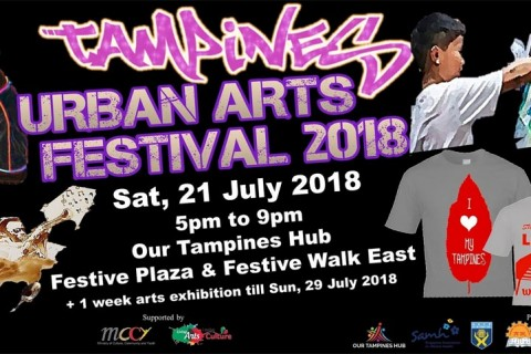 Tampines Urban Arts Festival 2018 by PAssionArts