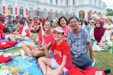 National Day Celebrations with the National Museum of Singapore