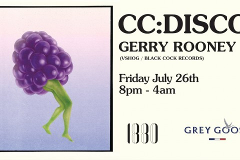 CC:DISCO! + GERRY ROONEY (VSHOG/Black Cock Records)