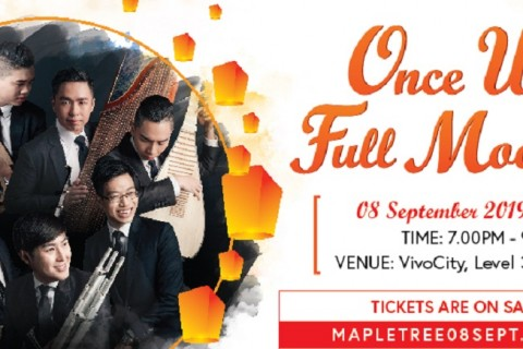 "Mapletree presents ""Once Upon a Full Moon 2019"" by The TENG Ensemble"