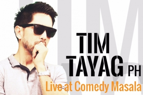 Comedy Masala @ HERO'S presents: Tim Tayag