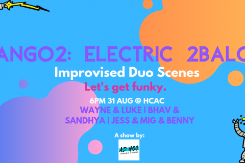 Tango2: Electric 2baloo, even more improvised duos