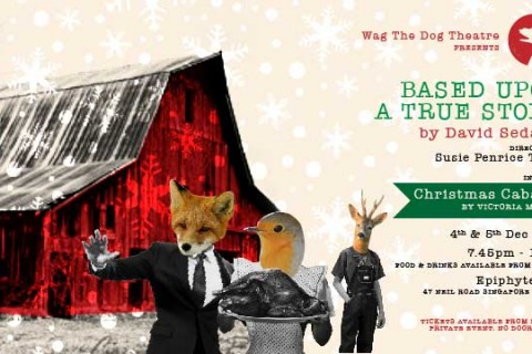 Based Upon A True Story by David Sedaris and Christmas Cabaret by Victoria Mintey!