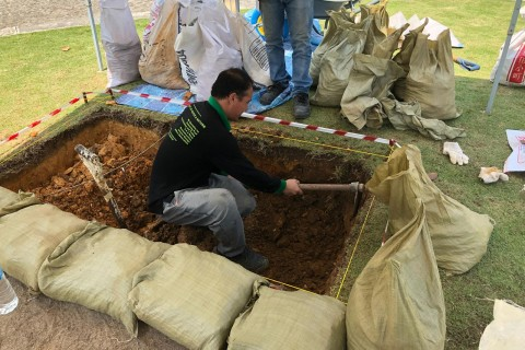 Live Archaeological Excavations at SAM