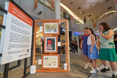 SOTA P6 Art Competition 2019 Top 50 Finalists Exhibition
