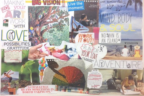 Discover Your Dream! - Collage, Construct, Create Your Personal Vision