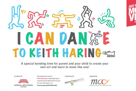 I can dance to Keith Haring Dance Workshop (Parent and Child)