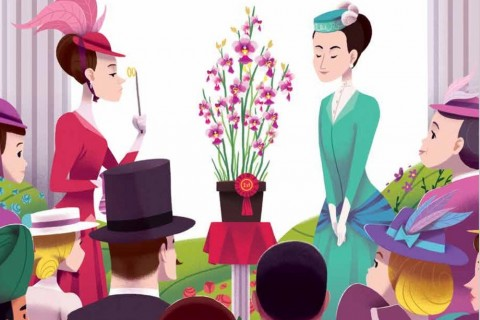 A Lighter Side of History - Agnes and Her Amazing Orchid: Writing History for Our Children
