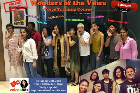 Wonders of the Voice - Voice Training Course