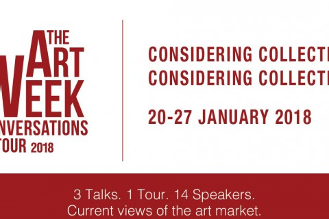 The Art Week Conversations 2018: Considering Collections