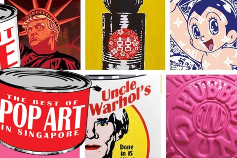 Instant Fame - the best of Pop Art in Singapore