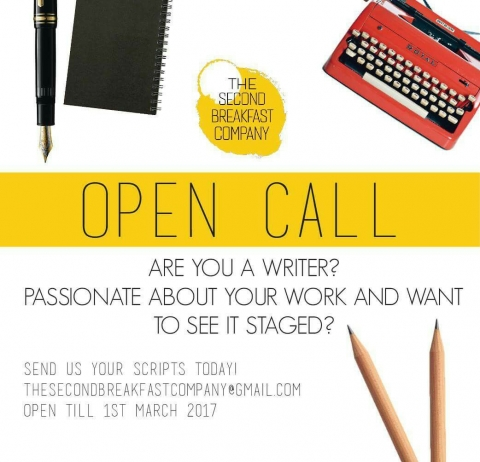 Open Call for Playwrights