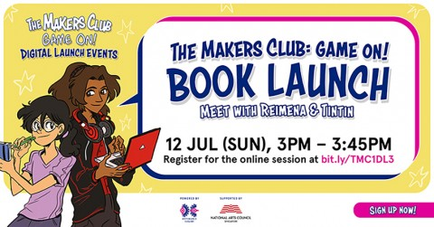 The Makers Club: Game On ! Book launch