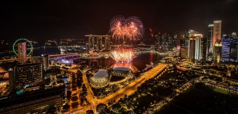 Marina Bay Singapore Countdown 2018