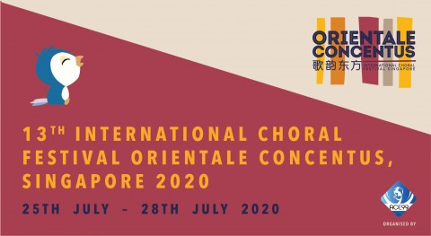 13th International Choral Festival Orientale Concentus, Singapore 2020