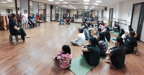 27 May 2017 Playback Theatre Open Rehearsal