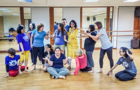 July 2019 Open Rehearsal with Tapestry Playback Theatre