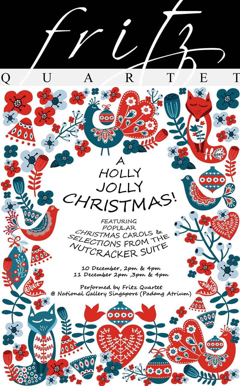 A Holly Jolly Christmas!- Arts Republic | Arts Events Singapore