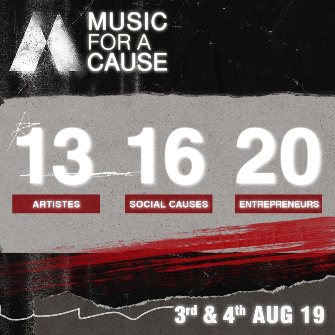 Music For A Cause 2019- Arts Republic | Arts Events Singapore