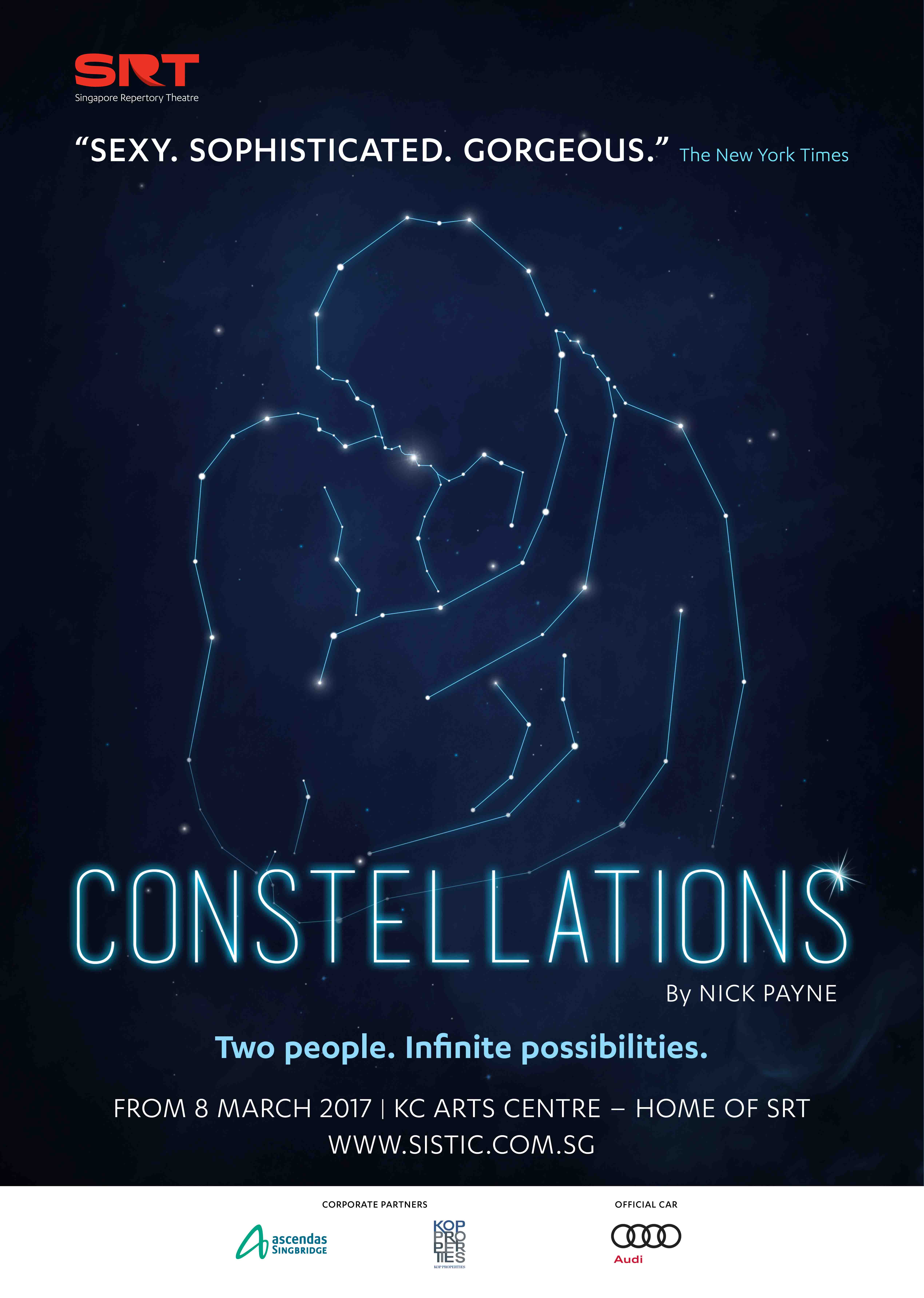 8eecc6b6 After sold out seasons on Broadway and on London's West End, don't miss  Constellations' premiere in Singapore!