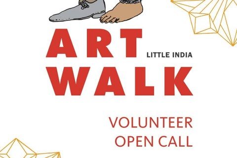 ARTWALK Little India 2019 - Volunteer Open Call