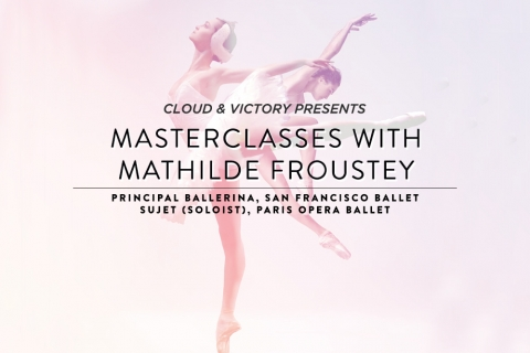 Cloud & Victory presents Masterclass with Mathilde Froustey
