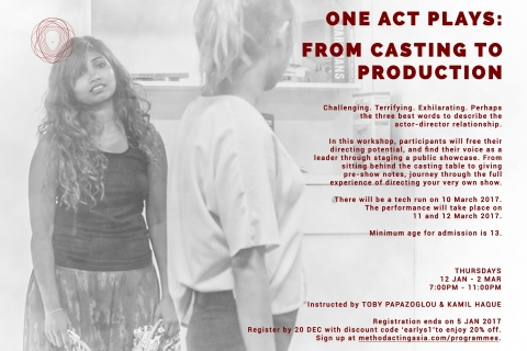 One Act Plays: From Casting To Production