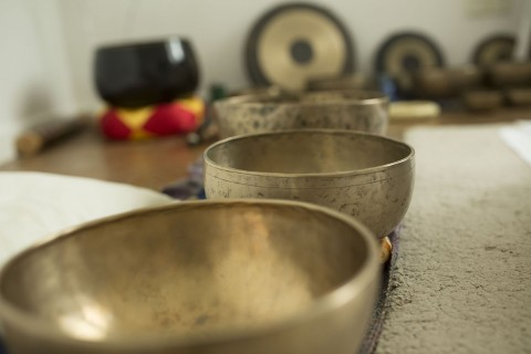 Morning with Singing Bowls: An Aural Experience