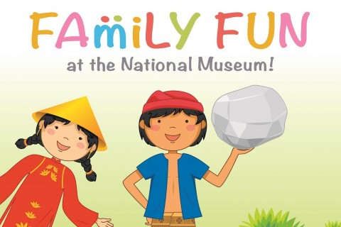 Family Fun at the National Museum of Singapore