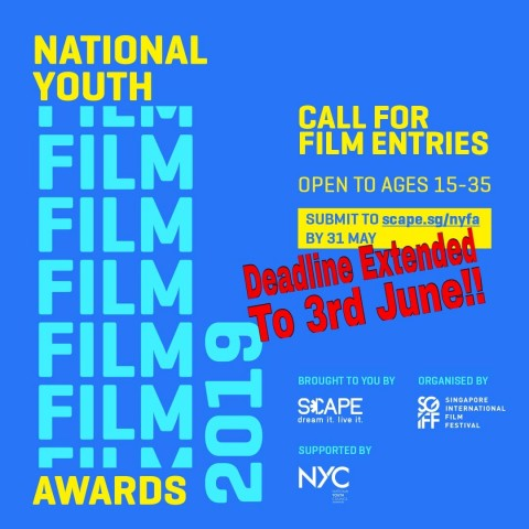 Call for Entries: National Youth Film Awards 2019
