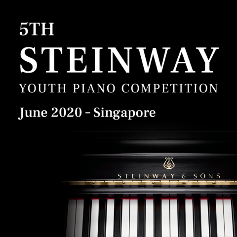 Register for 5th Steinway Youth Piano Competition