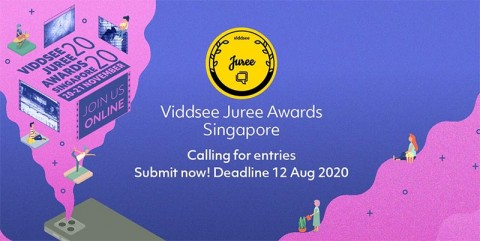 Viddsee Juree Awards Singapore 2020 - Call for Entries