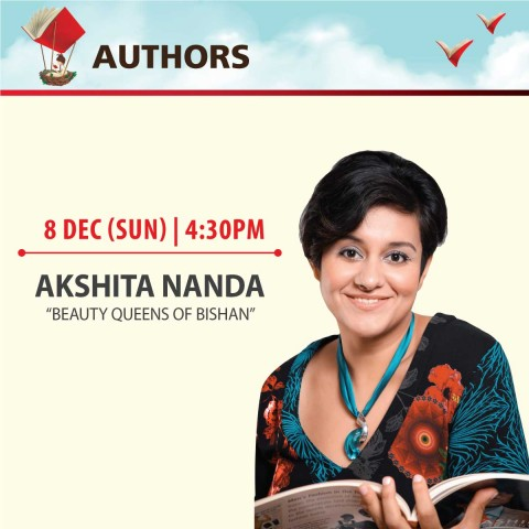 "Book sharing session by Akshita Nanda, author of ""Beauty Queens of Bishan"""