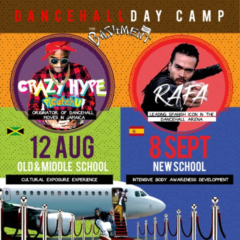 Dancehall Day Camp (Old, Middle, New School)