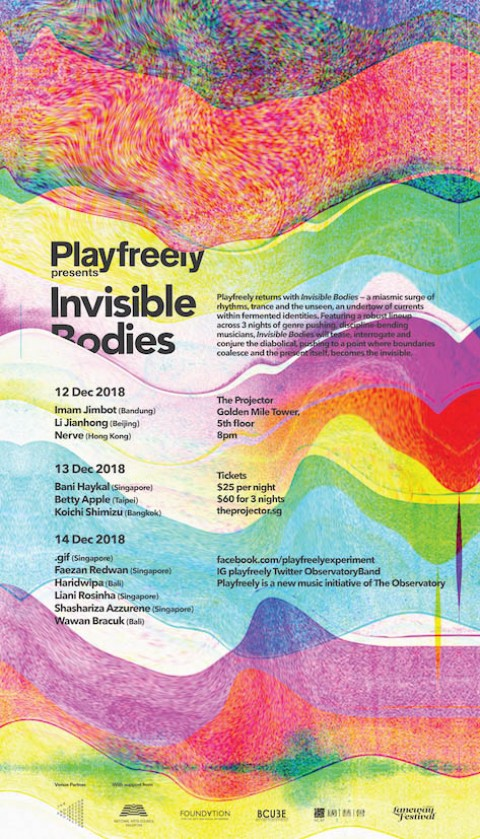Playfreely presents Invisible Bodies