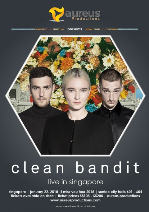 Clean Bandit Live in Singapore