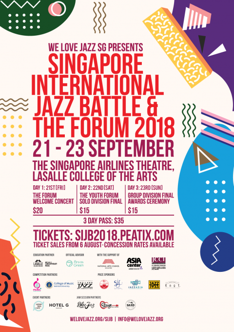 Singapore International Jazz Battle & The Forum 2018