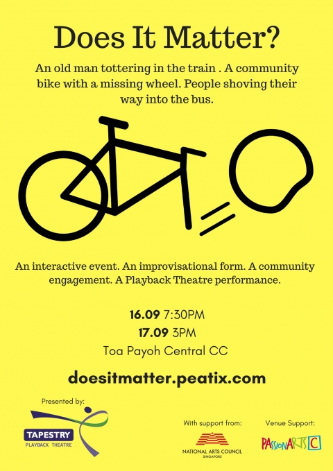 Does It Matter? A Playback Theatre performance