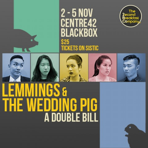 Lemmings and The Wedding Pig: A Double Bill