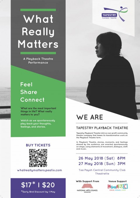 What Really Matters? A Playback Theatre Performance.
