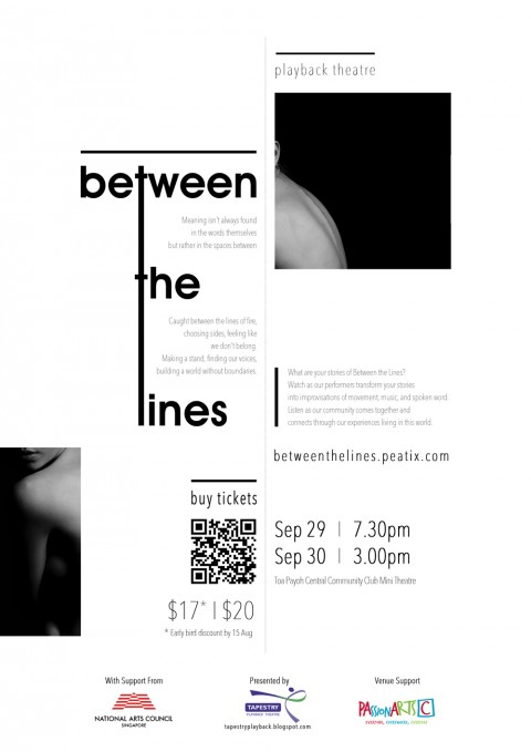 Between the Lines - a Playback Theatre performance