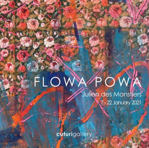 Julien des Monstiers: Flowa Powa Solo Exhibition