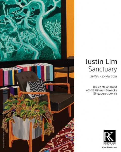Sanctuary - Solo Exhibition by Justin Lim