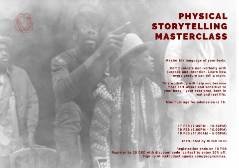 Physical Storytelling Masterclass