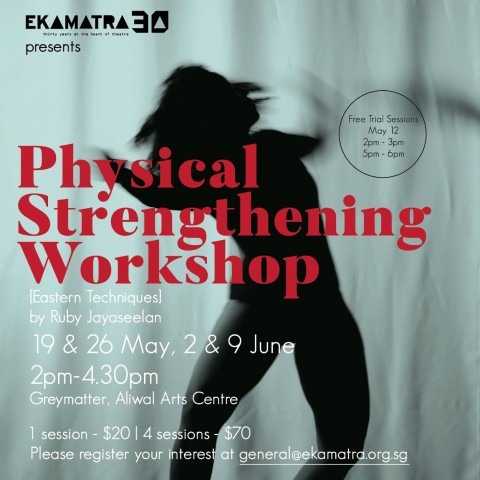 Physical Strengthening Workshop by Ruby Jayaseelan