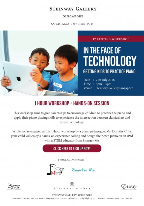 Parenting Workshop: In the face of technology