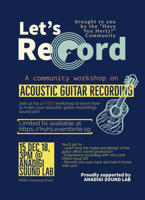 Let's Record: Acoustic Guitar Recording