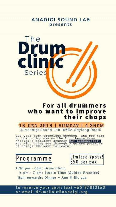 Drum Clinic for All Drummers