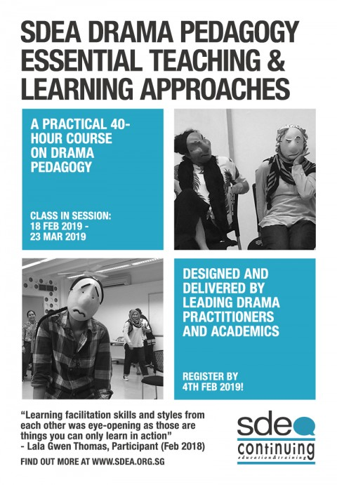SDEA Drama Pedagogy: Essential Teaching and Learning Approaches